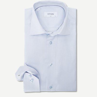 3070 Signature Twill Skjorte 3070 Signature Twill Skjorte | Blå